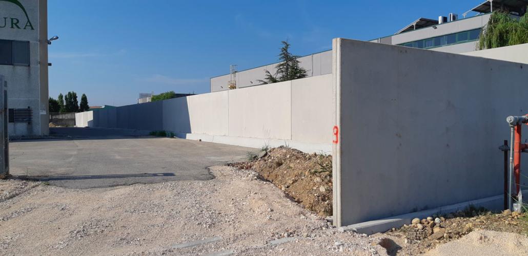 recinzione prefabbricata